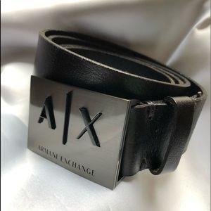 Armani Exchange 100% Leather/ authentic